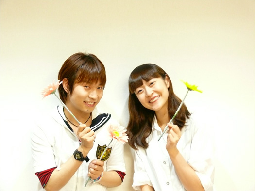 (左から)代永翼さん、能登麻美子さん