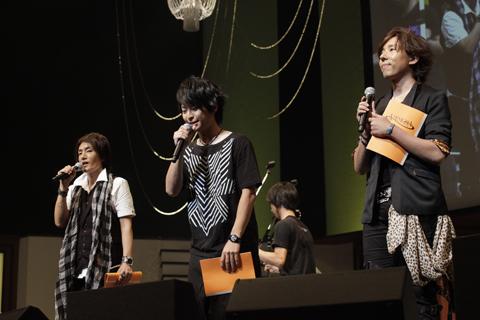 イベントの後半には、『AMNESIA』のキャスト陣よりアニメ化、新作ゲームの告知が行われた。