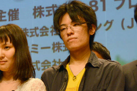特別賞を受賞した橋本晃太朗さん(BS11賞、文化放送賞を同時受賞)