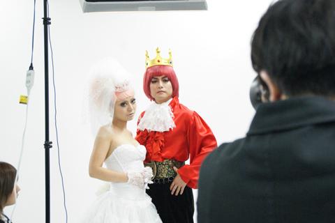 『5王子とさすらいの花嫁』チラシ撮影レポ