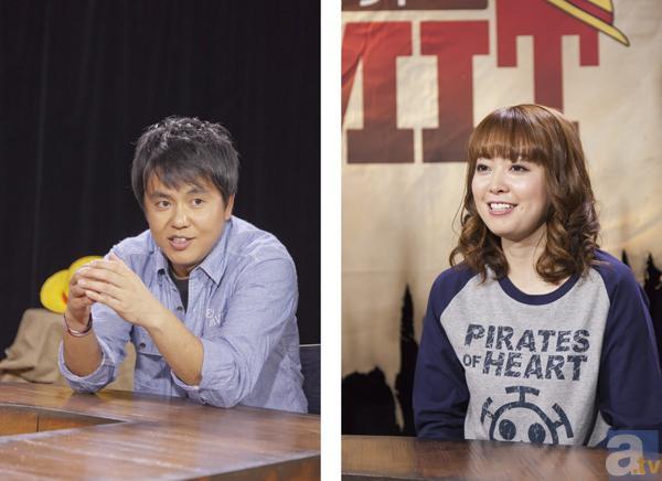 柳原哲也さん(左)、榎本温子さん(右)