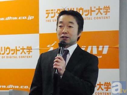 エンタテインメントビジネス総合研究所 代表取締役社長 藤田宏氏。