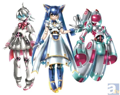3人の主役ロボットは、KEIさんがデザインを担当。