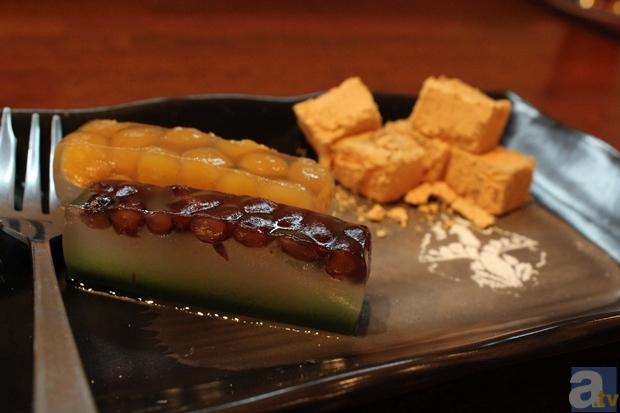 喜翠荘のおもてなし菓子