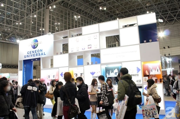 【ACE2013】ブースレポート:ジェネオン・ユニバーサル編