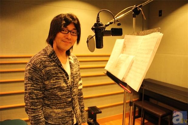 レコーディング時の小野さん