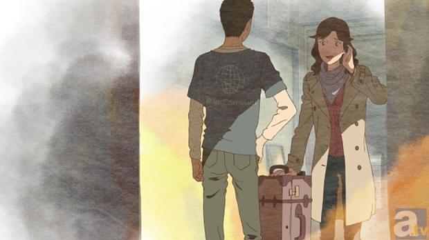 ▲シャツのバックプリントには、TRANS CONTINENTSのマークが!