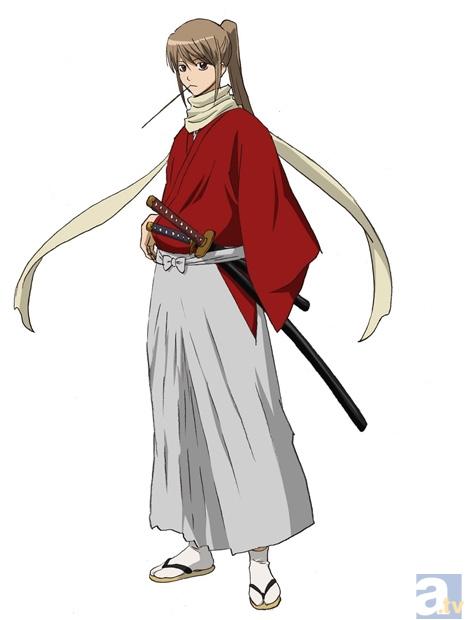 <b>●沖田総悟</b><br /> 真選組一番隊隊長を務める、隊最強の剣士。超がつくほどのサディストで、土方を失脚させようとあらゆる手段を講じる。銀時の実力は認めており、珍しく一目置いている。銀時の迷い込んだ未来では、なぜかあの人気キャラに似た姿に!?