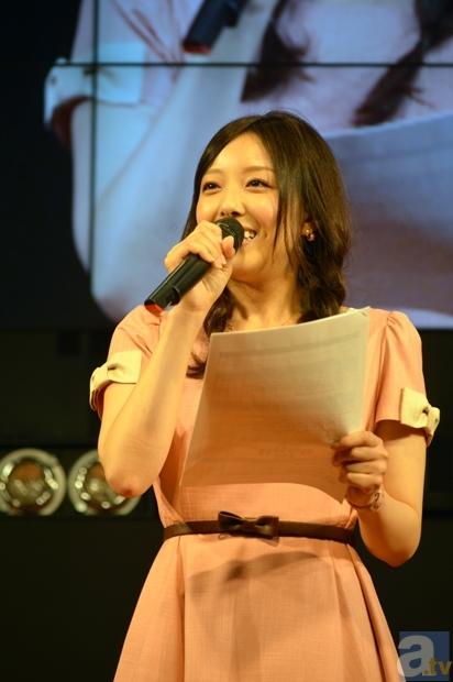 スペシャルサポーターの加藤英美里さんが司会。