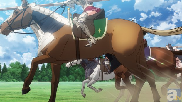 アニメ『ワルキューレロマンツェ』第八話「流れ星に願う」の先行場面カットが到着!