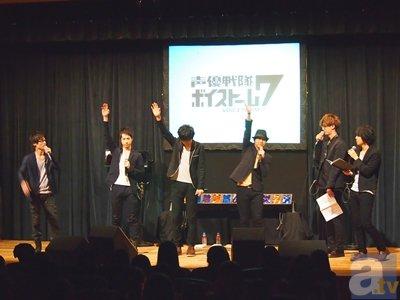 【AGF2013】『ボイストーム7』トーク&ライブレポをお届け