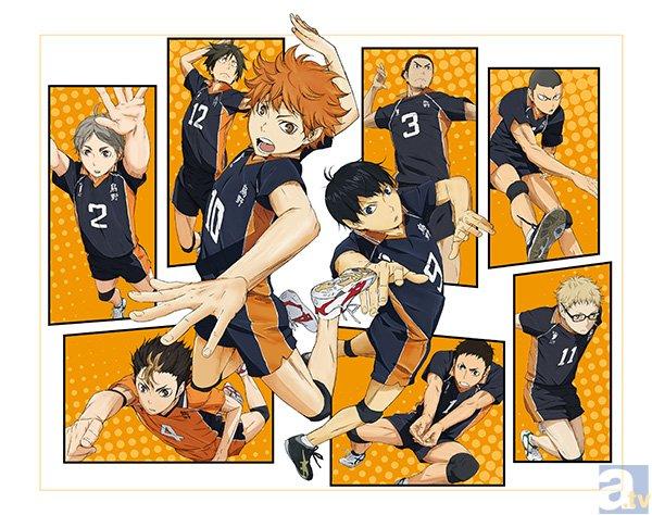 2014年4月放送のテレビアニメ『ハイキュー!!』に、神谷浩史さん、名塚佳織さんら人気キャストの参加が決定!