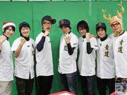 『ダイヤのA』のニコ生番組「青心寮へようこそ!~生ってこーぜ~」に青道高校のキャストが勢揃い! 男だらけのクリスマスパーティをレポート!