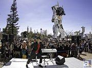 Diver Cityガンダムに向かって大熱唱! ヒャダインさんのNewシングル「半パン魂」発売記念イベントより、公式レポートをお届け!