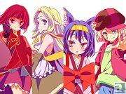 春新番『ノーゲーム・ノーライフ』は4月9日より放送スタート! 井口裕香さん、能登麻美子さんらが演じる新規キャラクタービジュアルも大公開!