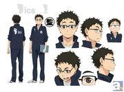 春アニメ『ハイキュー!!』より、神谷浩史さん・名塚佳織さんらが演じる新キャラクターの設定画を大公開! 「AJ2014」出展情報もお届け!