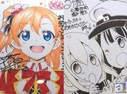 『ラブライブ!』や『艦これ』などの漫画作家陣による色紙を展示! 「AnimeJapan 2014」KADOKAWAブースのフォトレポートをお届け!