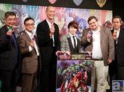 西川貴教さんが日本のアニメーションで描かれる海外ヒーローたちを応援! 『ディスク・ウォーズ:アベンジャーズ』製作発表会見レポート