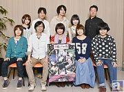 本日4月9日放送開始のテレビアニメ『棺姫のチャイカ』より、キャストコメントを大公開! 安済知佳さん・間島淳司さんらが本作への想いを語る!
