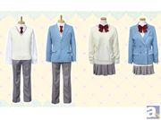 ゲームも発売中の 『薄桜鬼SSL ~sweet school life~』 より薄桜学園制服が登場します!