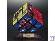 『ジョジョの奇妙な冒険』が豪華箔押しのルービックキューブに! ジョジョの奇妙なキューブ 「Part1.ファントムブラッド」「Part2.戦闘潮流」2014年4月下旬発売!