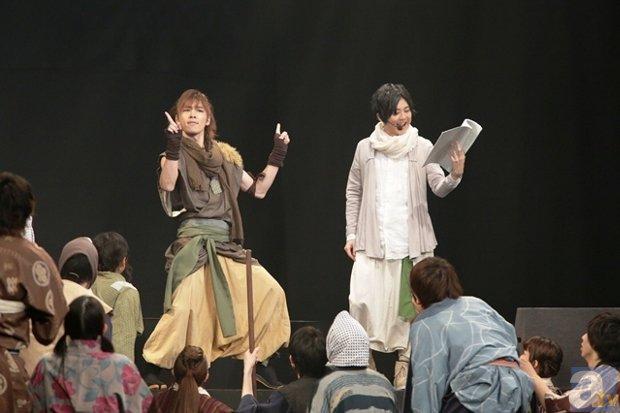 ▲左からLiveAct:安達勇人さん、LiveVoice:梶裕貴さん