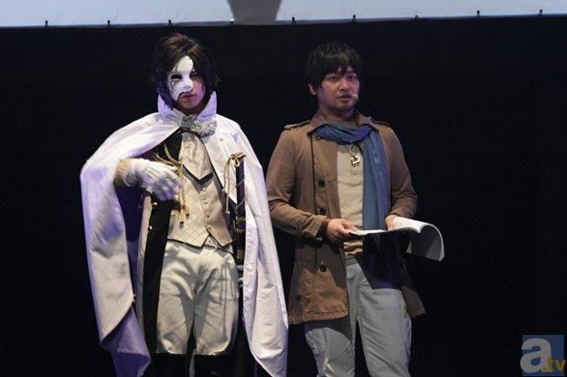 ▲左からLiveAct:北村諒さん、LiveVoice:中村悠一さん