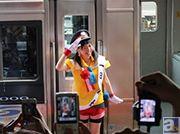【マチ★アソビvol.12】イベントの開催に合わせて徳井青空さんが徳島駅の1日駅長に就任! イベントの様子を速報レポート