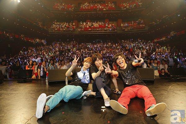 羽多野渉さん4thシングル発売記念イベントにゆーたくIIが出演