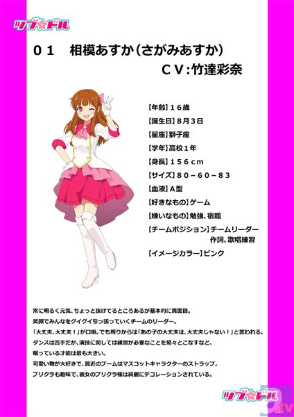 OVA『ツブ★ドル』最新ビジュアル&キャラクター設定初公開