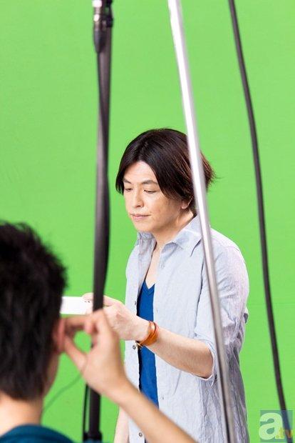 緑川さん出演『チェインクロニクル』新CMの撮影現場に潜入