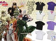プレミアムバンダイから「ジョジョの奇妙な冒険 スターダストクルセイダース」のポロシャツ、Tシャツを予約受付開始