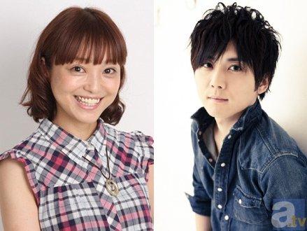 ▲左より金田朋子さん、梶裕貴さん