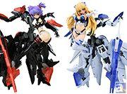 アニメ『武装神姫』より人気の姉妹神姫「アイネス」「レーネ」のフィギュアが二ヶ月連続でリリース!