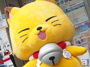 「アニ☆マルシェ」開催期間中、アニメ『繰繰れ!コックリさん』のモフモフなコックリさんがアニメイト池袋本店に登場! クリアファイルの配布も実施