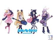 サンリオによる新キャラクタープロジェクト『SHOW BY ROCK!!』のキャラクターグッズがゲーマーズ・アニメイト限定で発売決定!