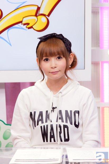 ▲メインMC<br />中川翔子さん
