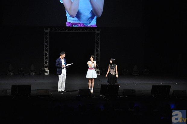 「TBSアニメフェスタ2014」悠木碧さんとタカオユキさんによる生アフレコなど見所満載の第1部をレポート-8