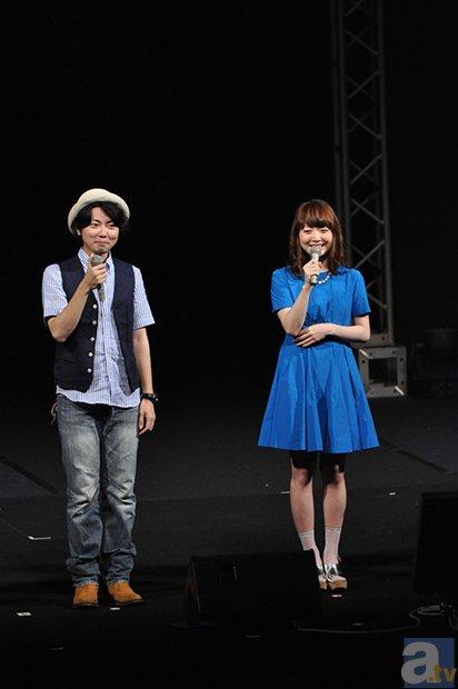 「TBSアニメフェスタ2014」悠木碧さんとタカオユキさんによる生アフレコなど見所満載の第1部をレポート-13