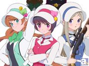 テレビアニメ『ユリ熊嵐』キービジュアル&メインキャスト発表! キャストには荒川美穂さん、生田善子さん、山根希美さんを起用