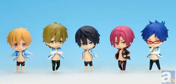 TVアニメ『Free!』のコレクションフィギュアが予約開始!