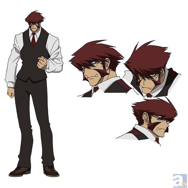 2015年春新番『血界戦線』より、キャラクター設定画を初公開!