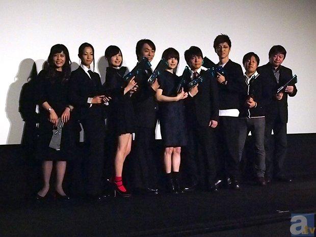 『劇場版 PSYCHO-PASS サイコパス』完成披露試写会レポ