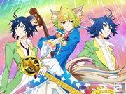 2015年4月TOKYO MX他にて、テレビアニメ『SHOW BY ROCK!!』放送決定! 宮野さん・逢坂さん・村瀬さんらが演じるアニメ登場バンド第四弾「トライクロニカ」のビジュアルも解禁!