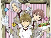 調理実習をテーマにしたストーリーで、浪川大輔さん・木村良平さんが熱演!? 女性向けPCゲーム『絶対階級学園』の先行公式ドラマCDが発売決定!