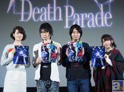 前野智昭さん、瀬戸麻沙美さん、大久保瑠美さんに加え、立川譲監督も登壇! 2015年冬アニメ『デス・パレード』先行上映会レポート