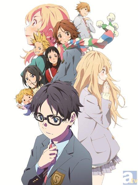 テレビアニメ『四月は君の嘘』#15「うそつき」より先行場面カット到着