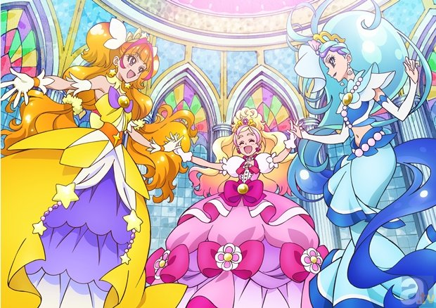『Go!プリンセスプリキュア』DVDゲットキャンペーンが開催決定