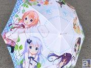 雨の日だって心ぴょんぴょん! 『ご注文はうさぎですか?』より痛傘が登場! ワンダーフェスティバル2015にてイベント先行販売も決定
