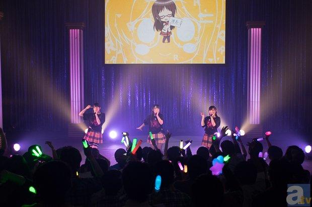 OP&ED、各ソロ曲に新曲も初披露! 人生相談テレビアニメーション「人生」スペシャルイベント『人生は楽しい!』レポート-11